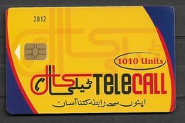 PAKISTAN USED CHIP PHONECARD 1010 UNITS - Pakistan