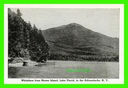 LAKE PLACID, NY - MINI-POSTCARD - WHITEFACE FROM MOOSE ISLAND, LAKE PLACID,IN THE ADIRONDACKS - - NY - New York