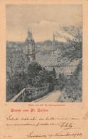 Cartolina St. Gallen Gruss Aus Blick Von Der St.Georgenstrasse 1904 - Cartoline
