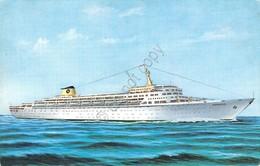 Cartolina Nave Da Crociera Oceanic Home Lines - Cartoline