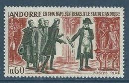 """Andorre YT 168 """" Napoléon """" 1963-64 Neuf** - Nuevos"""
