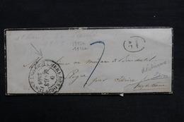 FRANCE - Enveloppe De La Chambre Des Députés Pour Issoire En 1846 - L 31427 - 1801-1848: Precursors XIX
