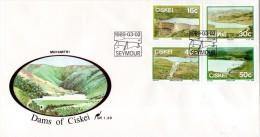 Ciskei - 1989 Dams FDC # SG 145-148 , Mi 149-152 - Ciskei