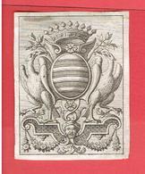 EX LIBRIS ANCIEN ARMOIRIE BOOKPLATE - Bookplates