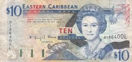 EASTERN CARIBBEAN / 10 DOLLARS - Oostelijke Caraïben