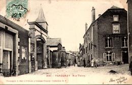 [51] Marne  VERZENAY 3181 Rue Thiers Carte Rare - France