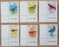 Wallis Et Futuna - YT N°369 à 374 - Faune / Oiseaux - 1987 - Neufs - Unused Stamps