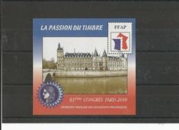 FRANCE 2010 - YT 4 - NEUF SANS CHARNIERE ** (MNH) GOMME D'ORIGINE LUXE - FFAP
