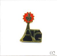 Pin's - Armée - ATG (Arrondissements Travaux Du Génie) Avec Tour Eiffel. Estampillé Difftong. EGF. T666-02 - Army