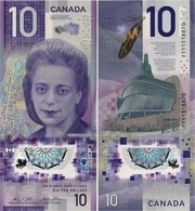 CANADA      10 Dollars     P-New      2018      UNC - Canada