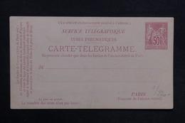 FRANCE - Entier Postal Pneumatique Type Sage Non Circulé - L 31430 - Entiers Postaux