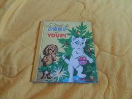 LES ALBUMS ROSES LE NOEL DE POUF ET YOUPI..ANNEE 1964...HACHETTE..20 PAGES.. - Hachette