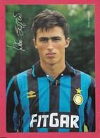 Inter - Dino Baggio - Non Viaggiata - Soccer