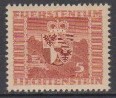 Liechtenstein 1947 Wappen / Definitive  1v ** Mnh (43017) - Liechtenstein