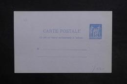 FRANCE - Entier Postal Type Sage Non Circulé - L 31446 - Entiers Postaux
