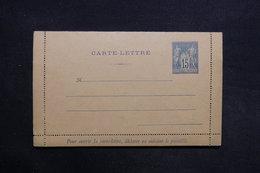 FRANCE - Entier Postal Type Sage Non Circulé - L 31447 - Entiers Postaux