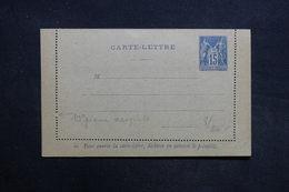 FRANCE - Entier Postal Type Sage Non Circulé - L 31449 - Postal Stamped Stationery