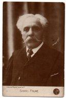 GABRIEL FAURE * PIANISTE FRANCAIS * Cliché Henri MANUEL * Collection Maurice Senart - Singers & Musicians