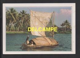 DF / BATEAUX / VOILIER DE TRANSPORT SUR LES CANAUX DU KERALA ( INDE ) / CARTE DOCUMENTAIRE - Sailing Vessels