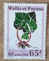 Wallis Et Futuna - YT N°482 - Flore / Kava - 1995 - Oblitéré - Wallis En Futuna