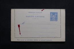 FRANCE - Entier Postal Type Sage Non Circulé - L 31454 - Letter Cards