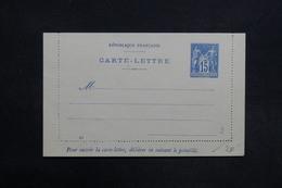 FRANCE - Entier Postal Type Sage Non Circulé - L 31455 - Letter Cards