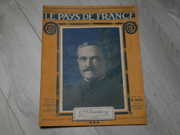 PAYS DE FRANCE N°146 .2.08.1917. GAL PERSHING. PORTUGAIS  FRONT. NIEUPORT BAINS.BATAILLE CRAONNE.47éme AVION GUYNEMER. - 1914-18