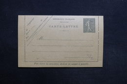 FRANCE - Entier Postal Type Semeuse , Non Circulé - L 31468 - Letter Cards