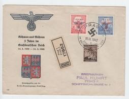 Kraft Durch Freude , Sammlergruppe Prag , Dekorativer Brief - Briefe U. Dokumente