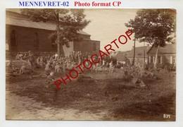 MENNEVRET-PHOTO Mate Allemande-GUERRE 14-18-1WK-France-02- - Autres Communes
