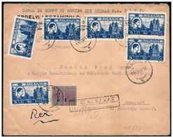Romania/Roumanie: Raccomandata, Registered, Recommandé Monastero, Monastère, Monastery - Abbazie E Monasteri