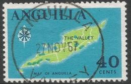 Anguilla. 1967-68 Definitives. 40c Used. SG 27 - Anguilla (1968-...)