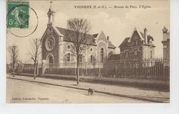 VIGNEUX SUR SEINE - Avenue Du Parc - L'Eglise - Vigneux Sur Seine