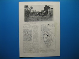(1936) La CITADELLE De BLAYE, Construite Par Vauban, Livrée Au Pic Des Démolisseurs (document De 3 Pages) - Vieux Papiers