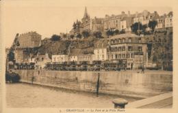 PC70791 Granville. Le Port Et La Ville Haute. La Cigogne. No 3 - Cartes Postales