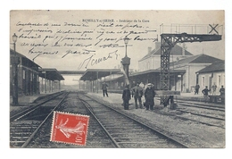 CPA Romilly-sur-Seine - Intérieur De La Gare - Romilly-sur-Seine