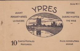 Ypres, Ieper Carnet De 10 Cartes. - Ieper