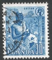 Uganda. 1962-64 Independence. 30c Used. SG 103 - Uganda (1962-...)