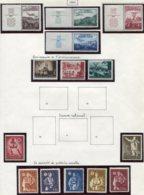 13179 CROATIE Collection Vendue Par Page   N° 50/3, 54/6, 62/3, 64/8 * 1942  B/TB - Kroatien