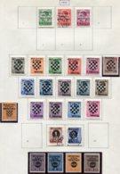 13177 CROATIE Collection Vendue Par Page   N° 2/4, 9/23, 24/5, 28/31 + Taxe 4 * 1941  B/TB - Kroatien