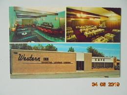 The Western Inn Restaurant & Lounge In Chamberlain. Dexter 44377-C.  Piano Bar. Coffee Shop. Banquets. Cocktails. - Etats-Unis