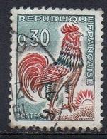 FRANCE N° 1331A O Y&T 1962-1965 Coq De Décaris - 1962-65 Cock Of Decaris