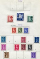 13180 CROATIE Collection Vendue Par Page   N° 72, 73/4, 75/8, 81, 83/4, 86/8, 90, 94 * 1943  B/TB - Kroatien
