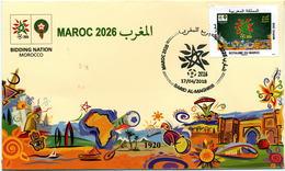 Maroc Y&T N° 1768 FDC Coupe Du Monde De Foot. - Morocco (1956-...)