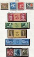 13182 CROATIE Collection Vendue Par Page   N° 115/8, 119/22, 123/5 * 1944  B/TB - Kroatien