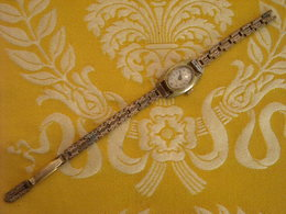 Montre Bracelet De Marque AIRIN Incabloc , Mécanique , Avant 1950 , Non Testée , Bracelet à Revoir - Montres Anciennes