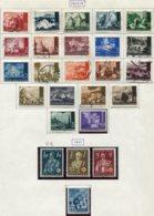 13178 CROATIE Collection Vendue Par Page   N° 32/45A, 46/8, 49 */ ° 1941-43  B/TB - Kroatien
