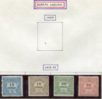 13168 CRETE (Bureau Anglais) Collection Vendue Par Page N° 2/5 (*)/ * 1898-99  B/TB - Crète