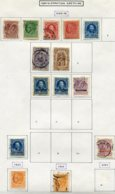 13169 CRETE  Collection Vendue Par Page N° 1/5, 7/8, 10/2, 16/7, 21, 23 °/ * 1900-04  B/TB - Kreta