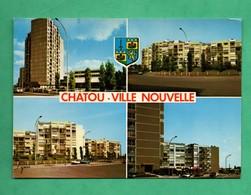 78 Yvelines Chatou Ville Nouvelle Carte Multivues - Chatou